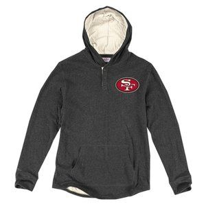 San Francisco 49ers Mitchell and Ness NFL Hoodie M